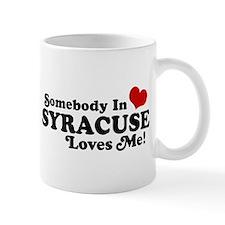Somebody In Syracuse Loves Me Mug