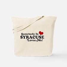 Somebody In Syracuse Loves Me Tote Bag