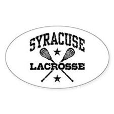 Syracuse Lacrosse Decal