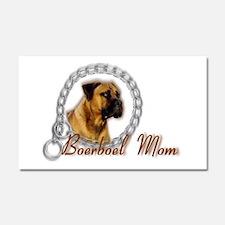 ;Boerboel Mom Car Magnet 20 x 12