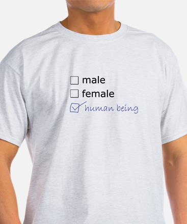 Genderqueer/Trans Human Being T-Shirt