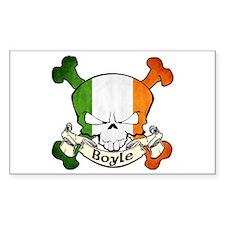 Boyle Skull Decal