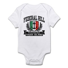 Federal Hill Italian Infant Bodysuit