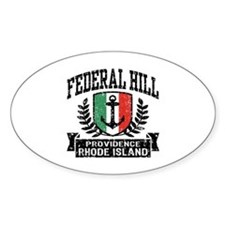 Federal Hill Italian Decal