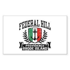 Federal Hill Italian Decal