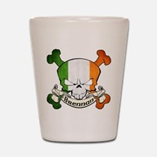 Brennan Skull Shot Glass