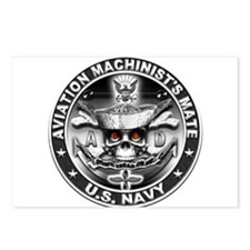 USN Aviation Machinists Mate Postcards (Package of