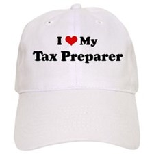 I Love Tax Preparer Baseball Cap