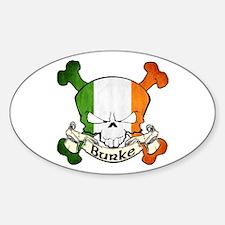 Burke Skull Decal
