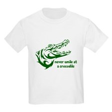 Never Smile (green) T-Shirt