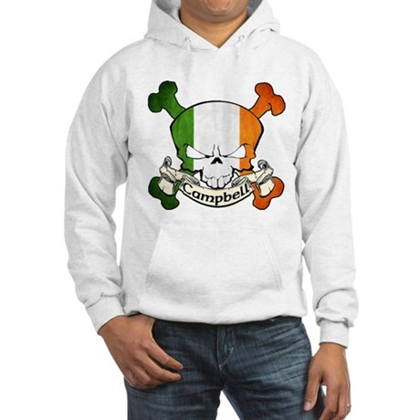 Campbell Skull Hooded Sweatshirt