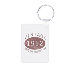1912 Vintage (Red) Keychains