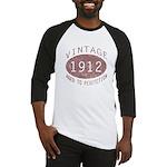 1912 Vintage (Red) Baseball Jersey