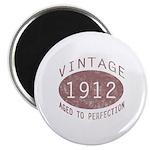 1912 Vintage (Red) Magnet