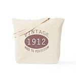 1912 Vintage (Red) Tote Bag