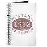 1912 Vintage (Red) Journal