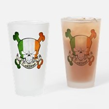 Collins Skull Drinking Glass