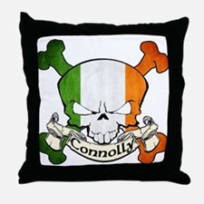 Connolly Skull Throw Pillow