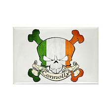 Connolly Skull Rectangle Magnet