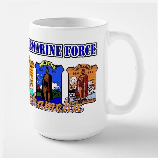 USS Kamehameha Large Mug