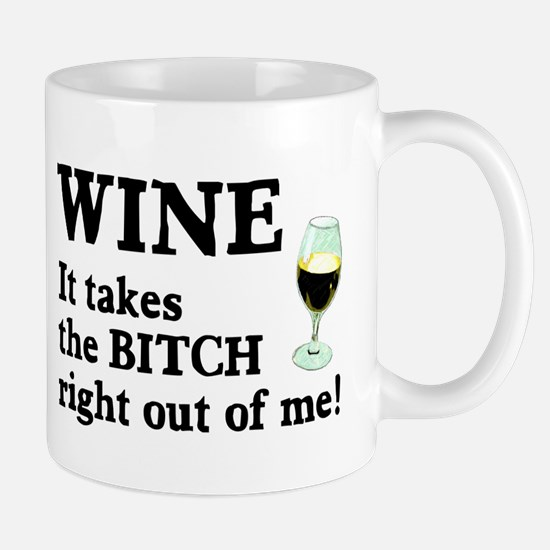 No Bitch Just Wine Mug