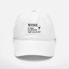 No Bitch Just Wine Baseball Baseball Cap