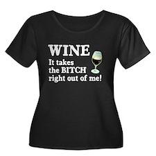 No Bitch Just Wine T