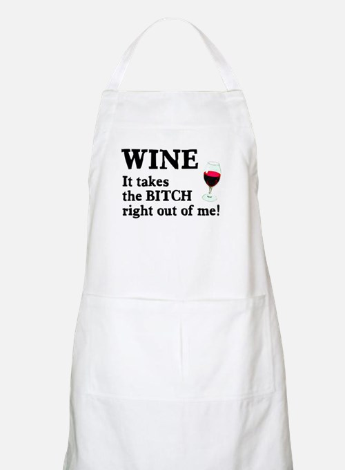 No Bitch Just Wine Apron