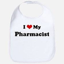 I Love Pharmacist Bib