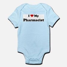 I Love Pharmacist Infant Creeper