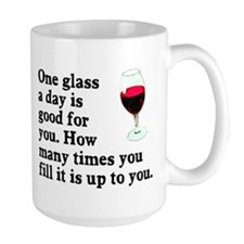 A Glass A Day Mug