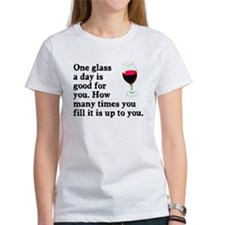 A Glass A Day Tee