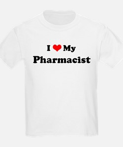I Love Pharmacist Kids T-Shirt