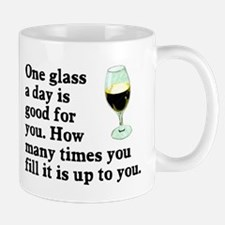A Glass A Day Mug