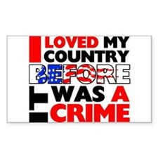 """Before It Was a Crime"" Decal"