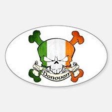 Donovan Skull Decal