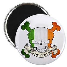 Donovan Skull Magnet