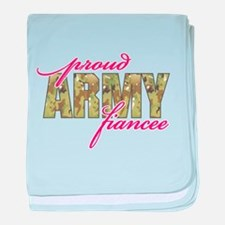 Cool Army sweetheart baby blanket