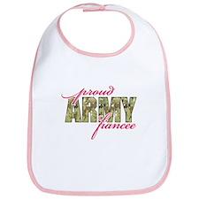 Funny Army sweetheart Bib