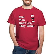 Real Men Wine T-Shirt