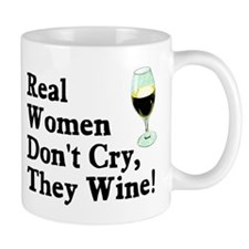 Real Women Wine Mug
