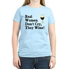 Real Women Wine T-Shirt