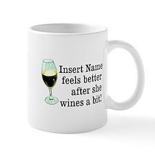 Personalized Wine Gift Small Small Mug