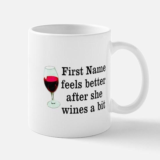 Personalized Wine Gift Mug