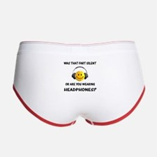 Farts & Headphones Women's Boy Brief