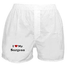 I Love Surgeon Boxer Shorts