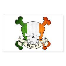 Flynn Skull Bumper Stickers