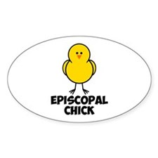 Episcopal Chick Decal