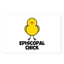 Episcopal Chick Postcards (Package of 8)