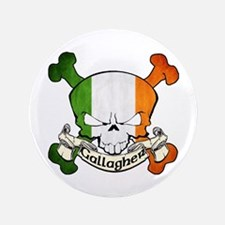 """Gallagher Skull 3.5"""" Button"""